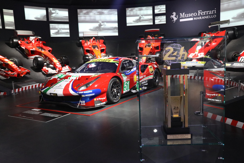 เส้นทางชิงชัยเฟอร์รารี่ 7 ทศวรรษในการแข่งขันรายการ 24 ชั่วโมง เลอม็องจัดแสดงแล้วที่พิพิธภัณฑ์เฟอร์รารี่