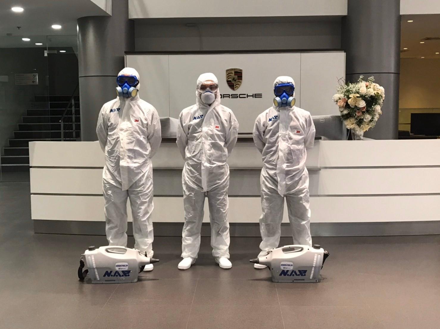 ปอร์เช่ เอเอเอสฯ จัดมาตรการรักษาความสะอาดและสุขอนามัย รับมือและป้องกัน COVID-19 เพื่อความมั่นใจแก่ลูกค้าและผู้ใช้บริการ