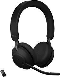 Jabra Evolve2 65 Link380a UC Stereo Stand Black