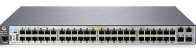 Aruba 2530-48-PoE+ Switch (48 x 10/100 PoE+ ports, 2 x 10/100/1000 ports, 2 SFP ports, 382W)