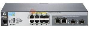 Aruba 2530-8-PoE+ Switch (8 x 10/100 PoE+ ports, 2 dual SFP ports, 67W)