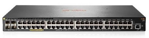 Aruba 2540 48G PoE+ 4SFP+ (48 x 10/100/1000 PoE+ ports, 4 SFP+ ports,370W)