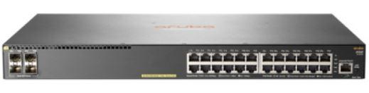 Aruba 2930F 24G PoE+ 4SFP+ Swch (24 x PoE+ ports, 4 SFP+ ports, 370W) มาแทน JG936A
