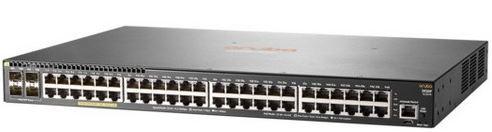 Aruba 2930F 48G PoE+ 4SFP Swch (48 x PoE+ ports, 4 SFP ports, 370W)