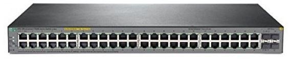 HPE 1920S 48G 4SFP PPoE+ 370W Swch (48 x 10/100/1000 plus 4 SFP; 24 PoE+ ports)