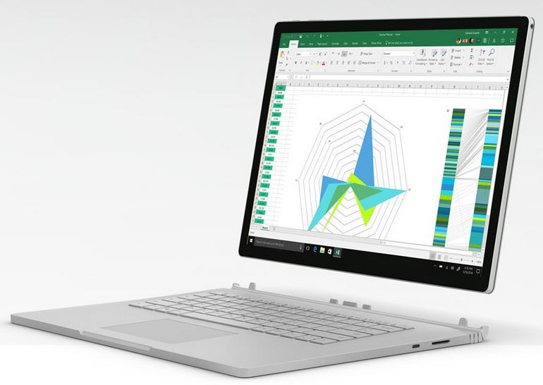 New Surface Book 2
