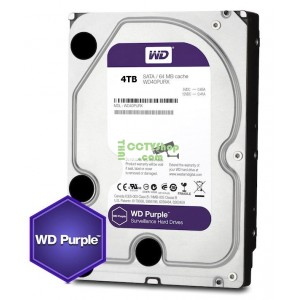Harddisk WD(สีม่วง) 4TB