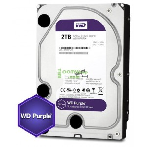 Harddisk WD(สีม่วง) 2TB