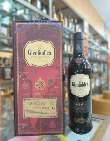 Glenfiddich Age of Discovery 19 Years 70cl