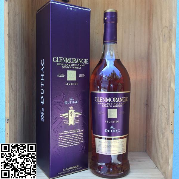 ซิงเกิลมอลต์ วิสกี้-Glenmorangie The Duthac 1L