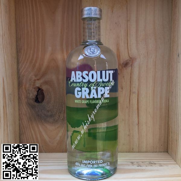 Absolut Vodka Grape ( 80 Proof ) 1L