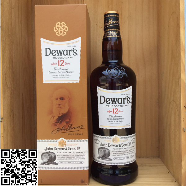 Dewar's Aged 12 years The Ancestor Double Aged 1L