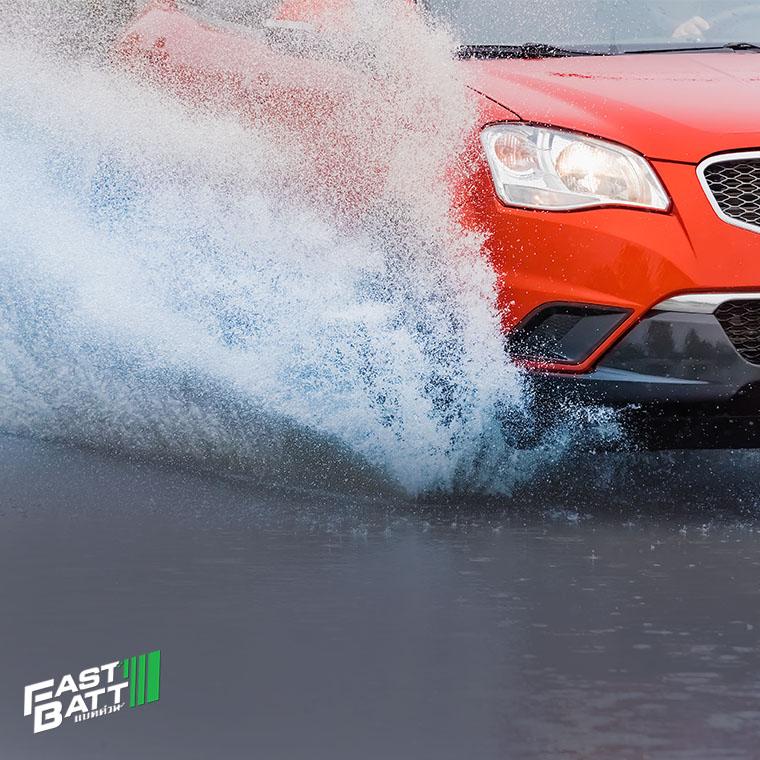 """เมื่อ """"น้ำท่วม"""" ขับรถอย่างไรให้ปลอดภัย"""