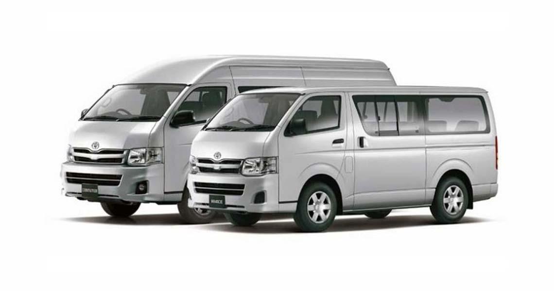 เปลี่ยนแบตเตอรี่ Toyota Hiace Commuter แบตหมด ราคาถูก ติดตั้ง ฟรี!