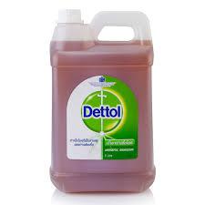 น้ำยาทำความสะอาดฆ่าเชื้อ ไฮยีน 5 ลิตร เดทตอล Dettol
