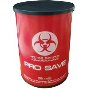 กล่องทิ้งเข็มแบบกลม pro save