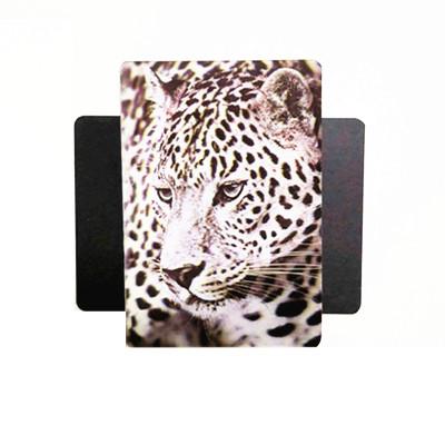 lenticular print 3d magnet of animal tiger face