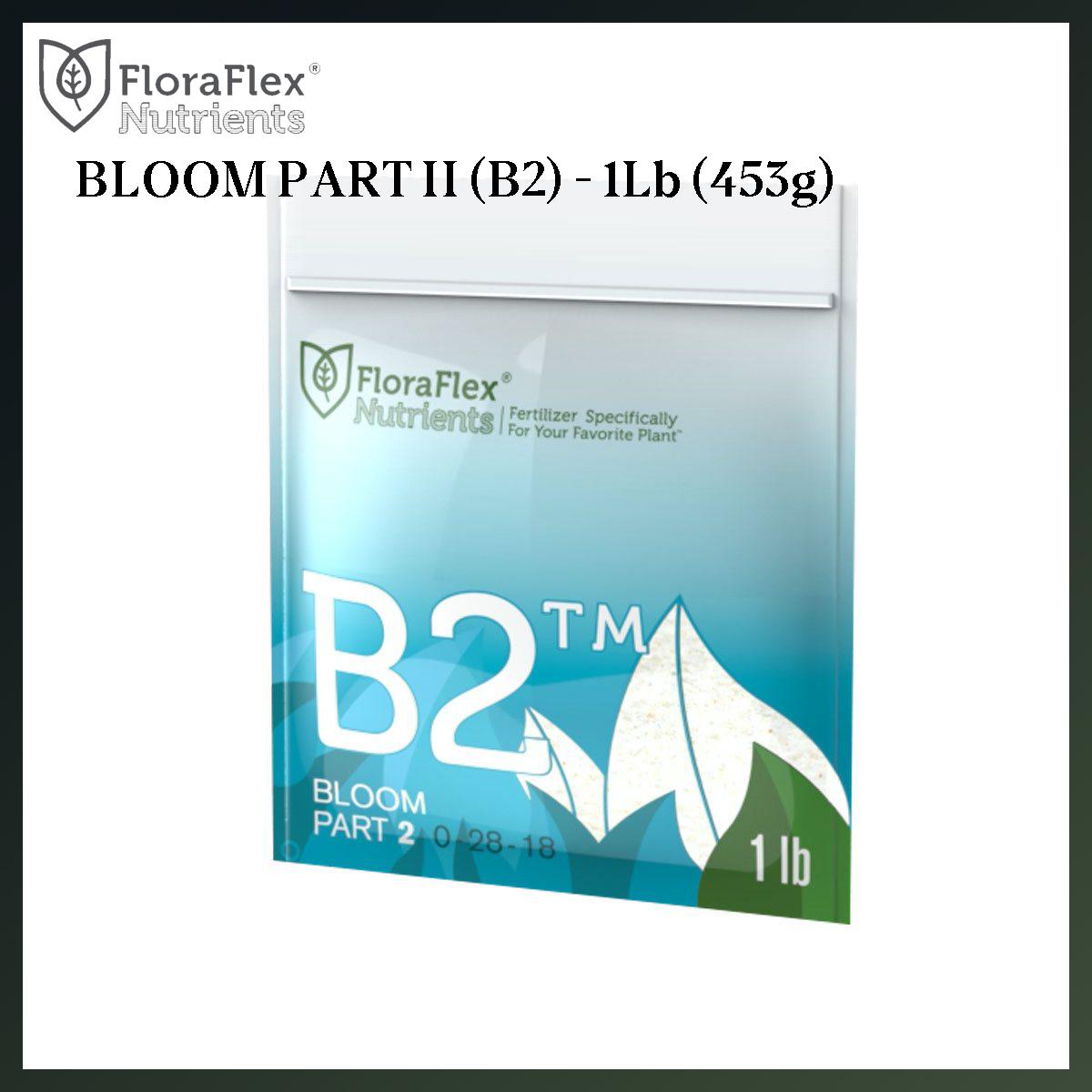 FLORA FLEX 1Lb NUTRIENT (453g) B2