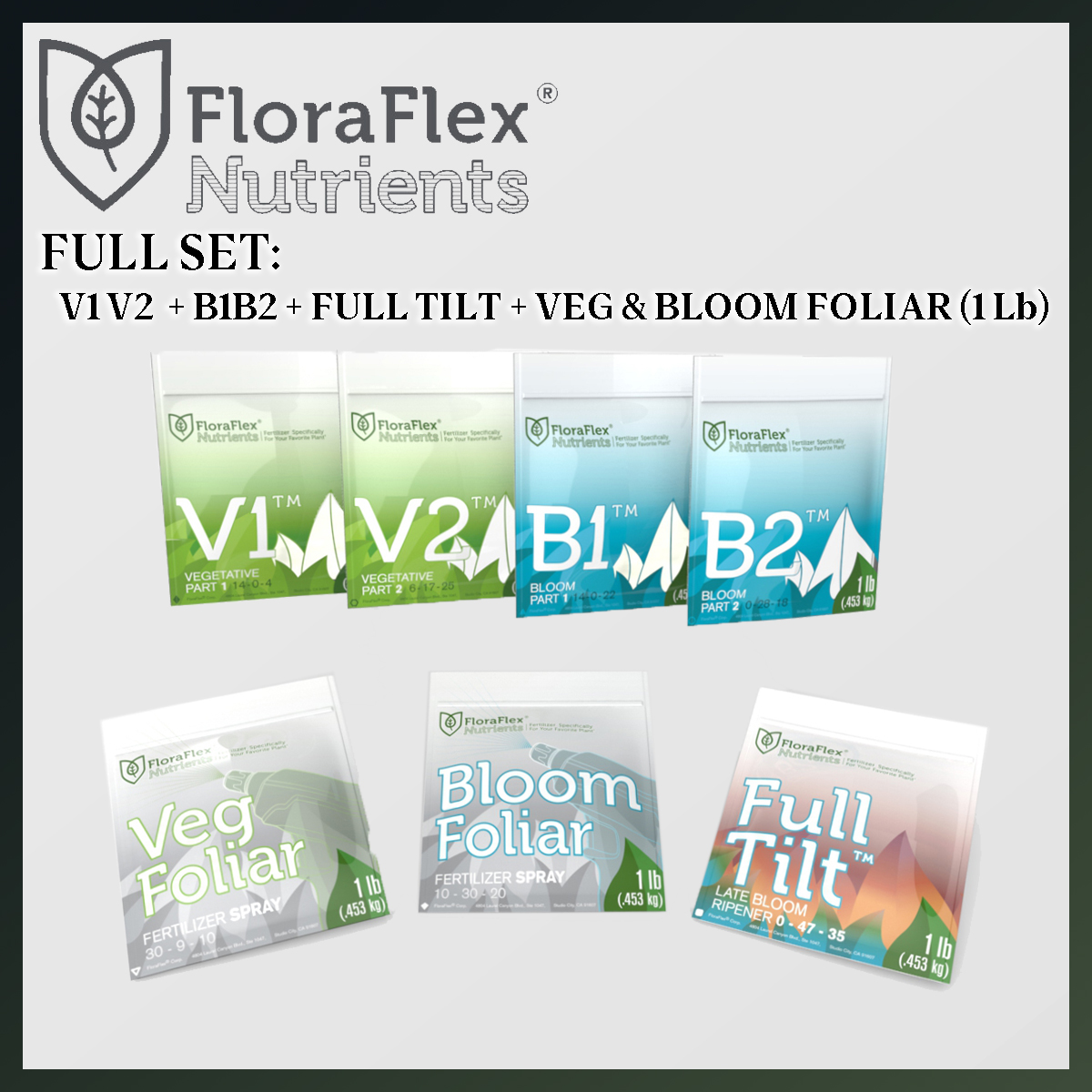 VALUED SET: FLORA FLEX FULL SET