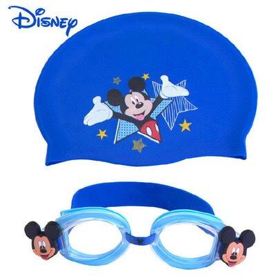 เซ็ทแว่นตา & หมวกซิลิโคน มิคกี้เม้าส์