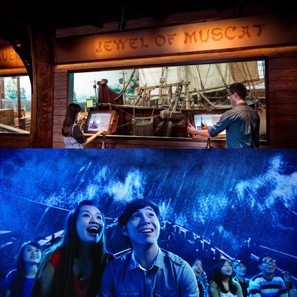 พิพิธภัณฑ์การเดินสมุทร และ โรงภาพยนตร์ไต้ฝุ่น 4 มิติ