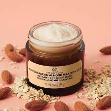 The Body Shop Mediterranean Almond Milk with Oats Mask