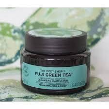 TBS Hair Scrub Fuji Green Tea