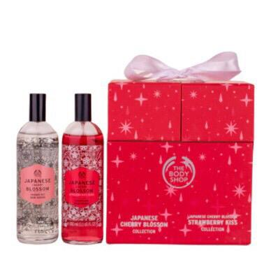 The Body Shop Japanese Cherry Blossom Japanese Stawberry Kiss