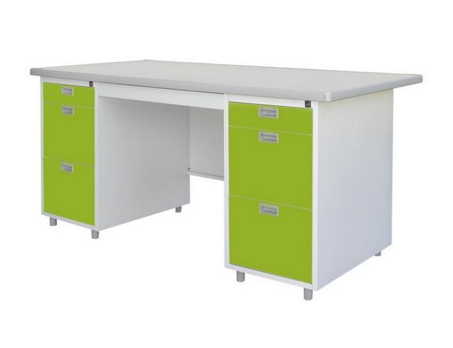โต๊ะทำงาน DX หน้าโต๊ะเหล็ก พ่นสีอีพ๊อกซี่ DX-52-33