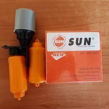 ลูกลอยไฟฟ้าอัตโนมัติ ระบบถ่วงตุ้มน้ำ SUN