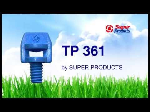 หัวฉีดสเปรย์ผีเสื้อ 360 องศา รุ่น TP 361 Super Products