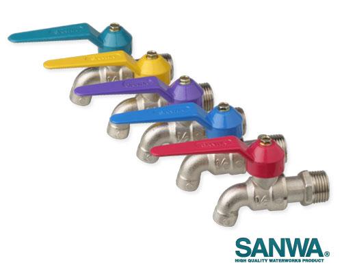 """ก๊อกน้ำแฟนซี 1/2"""" SANWA"""