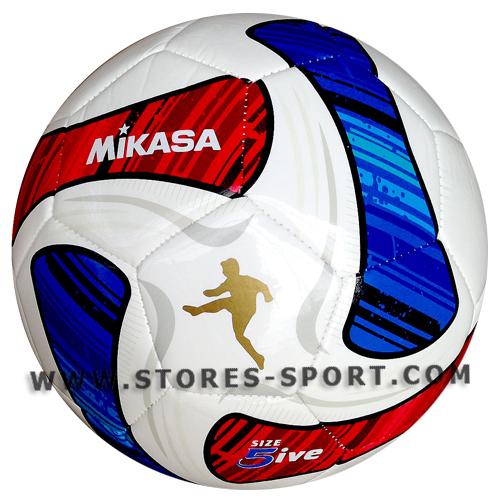 ลูกฟุตบอล ฟุตบอลหนังเย็บ Mikasa รุ่น SWA50-BR