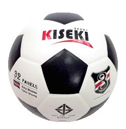ลูกฟุตบอล KISEKI No.3 ขาว-ดำ