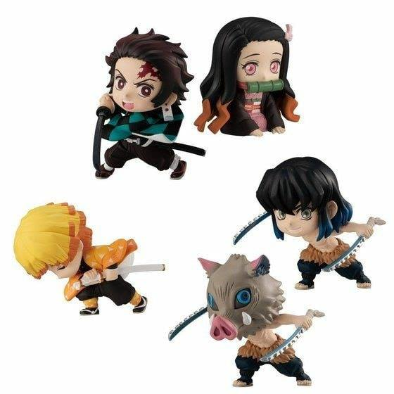 DEMON SLAYER: Yaiba ADVERGE MOTION Set 5 ตัว BANDAI