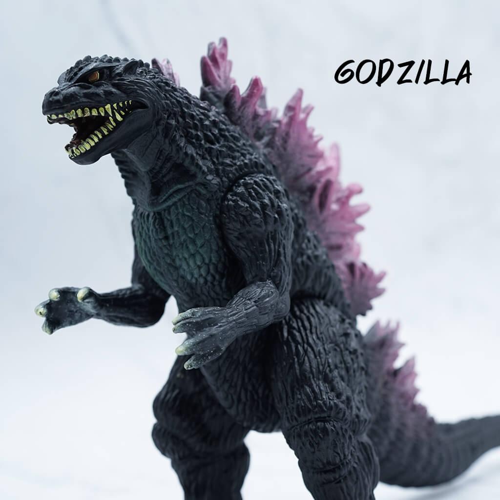 โมเดล Godzilla 1999 (ซอฟไวนิลราคาไม่แพง) ขยับได้ 5 จุด