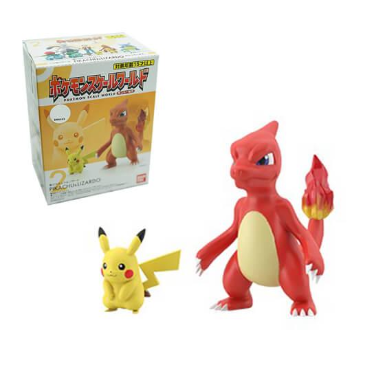Pokemon Scale World: No.2 Pikachu & Lizardo