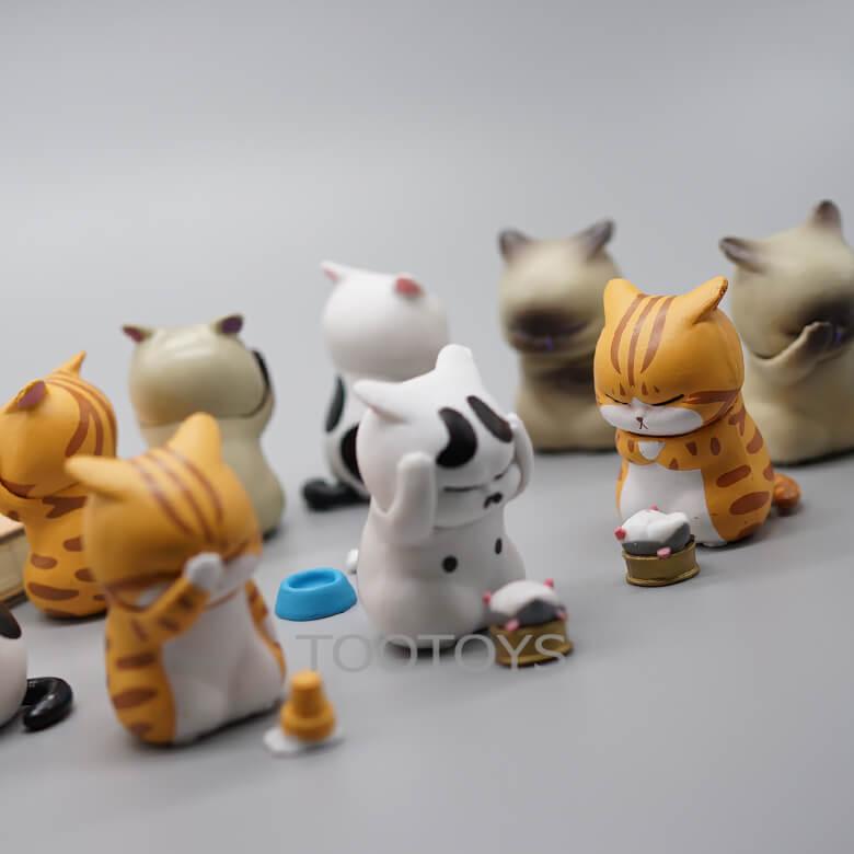 โมเดลแมวเศร้า แมวปวดขมอง