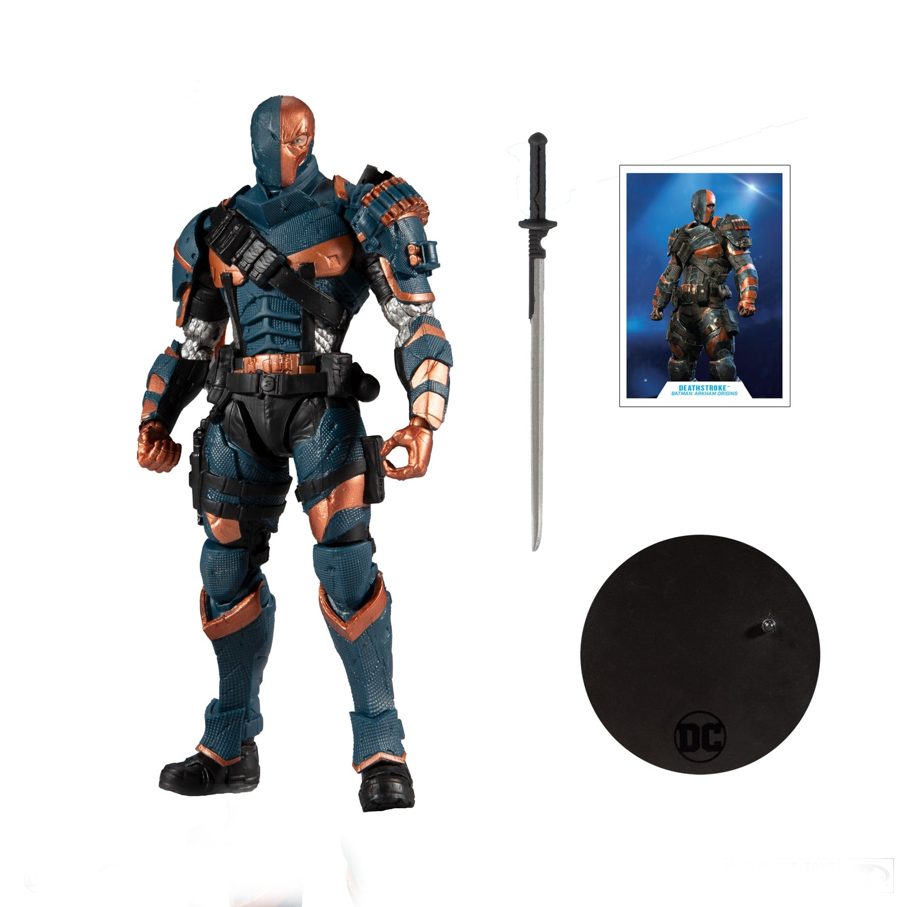 McFarland DC - Deathstroke Scale 7 inch