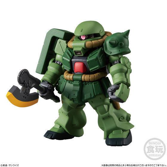 Gundam Converge#17 No.221 ZAKU II FZ
