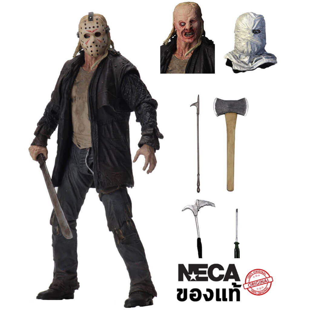 "Friday the 13th – 7"" Scale Action Figure – Ultimate 2009 Jason"