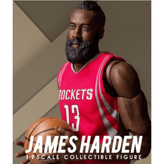 โมเดลนักบาส NBA James Harden 1:9 Scale Collectible Figure