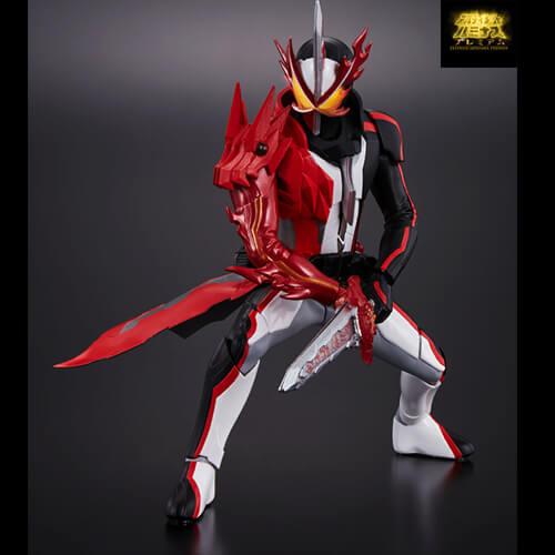 Premium Gashapon Ultimate Luminous Saber Rider Pose A