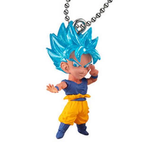 พวงกุญแจโมเดลดราก้อนบอลของแท้ DB SUPER UDM THE BEST 33 : SSGSSS Goku