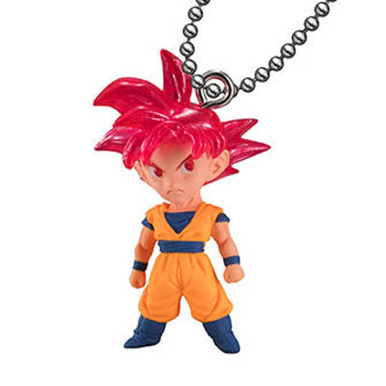 พวงกุญแจดรากอนบอลของแท้ รุ่น DB SUPER UDM THE BEST 28 - SSG Son Goku