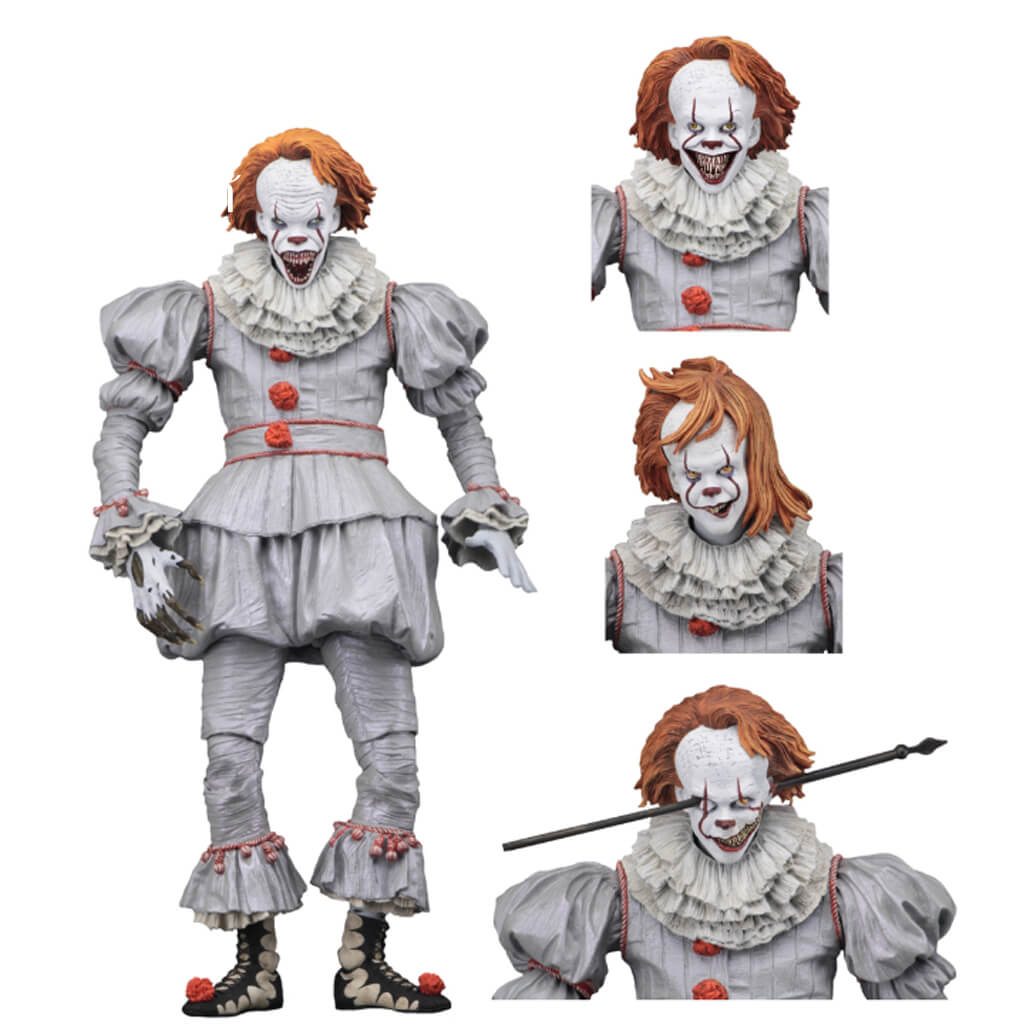 IT (2017) – 7″ Scale Action Figure – Ultimate Well House Pennywise