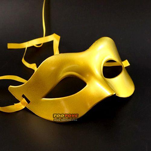 หน้ากากแฟนซี รุ่น หน้ากากคาดตา สีทอง - Venetian Collection