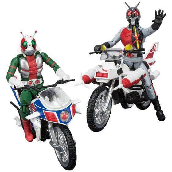 SHODO-X Kamen Rider 7 - โชโดเอ็กซ์ ไรเดอร์ชุดที่ 7