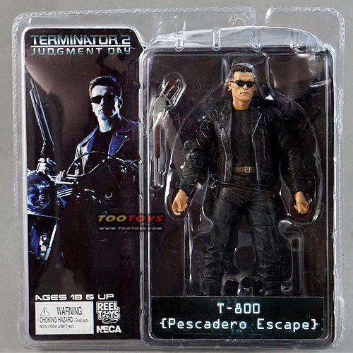 โมเดลคนเหล็ก - Terminator ภาค 2 รุ่น T-800 Pescadero Escape