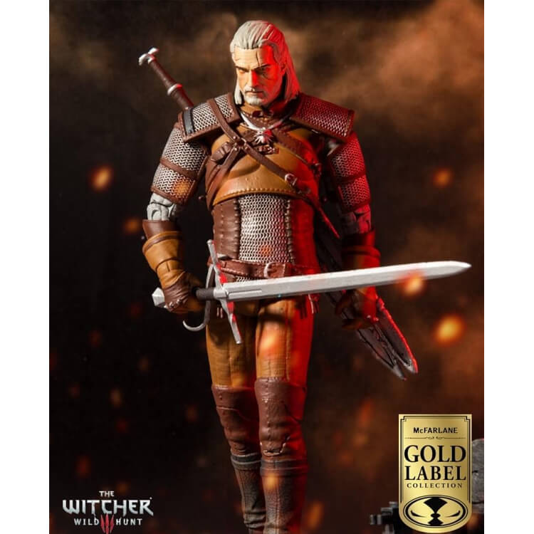 McFarlane Gold Label Collection The Witcher 3 Wild Hunt Geralt of Rivia 7-inch Action Figure